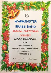 Warminster Brass Band Christmas Concert 2017