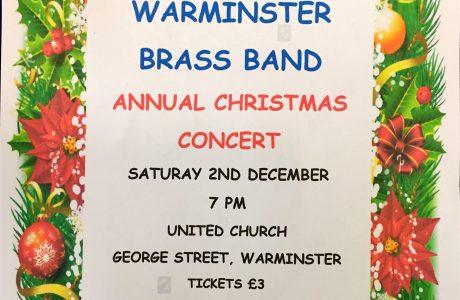 Warminster Brass Band Christmas Concert 2017